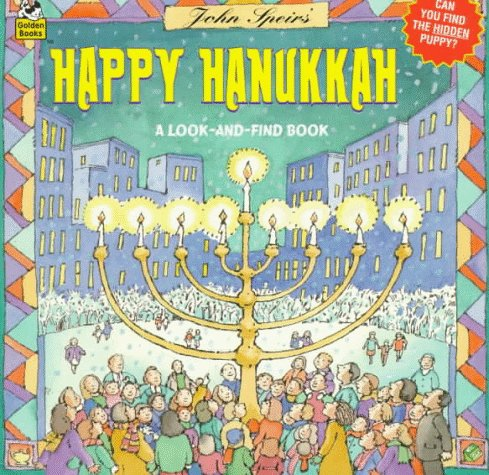 Hanukkah Look & Find (Look-Look), MARGERY GOLD