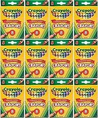 Bulk Buy: Crayola Crayons 8/Pkg 52-30…