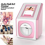 Digital Nail Art Printer Nail Painting Machine + 7.9inch Touch Screen Smart Phone Control Wireless WiFi Signal Pack of Nail Gel Nail Polish