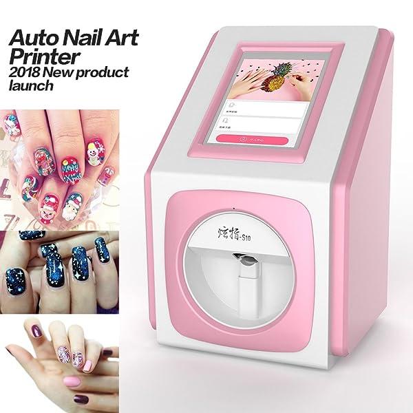 Digital Nail Art Printer Nail Painting Machine + 7.9inch Touch ...
