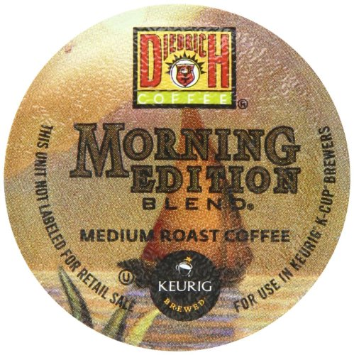 Diedrich Coffee Morning Edition Blend Keurig K-Cups, 24-Count (Pack Of 2)