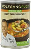 Wolfgang Puck Organic Hearty Garden Vegetable Soup, 14.5 Ounce Cans (Pack of 12)