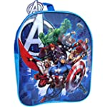 The Avengers Official Boy's Blue Scho...