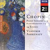 Chopin: Piano Sonatas Nos. 1 - 3; 24 Etudes; Fantaisie in F minor