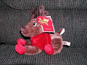 "Santa Claus 8"" Plush Blitzen the Reindeer"