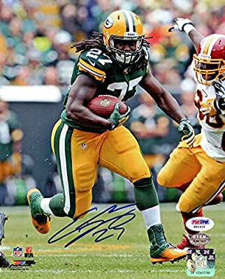 Eddie Lacy Autographed 8x10 Photo Green Bay Packers Psa/dna Rookiegraph Stock #76046