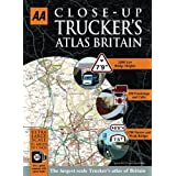 AA Close Up Truckers Atlas Britain A3 (Road Atlas) (AA Atlases and Maps)by Automobile Association