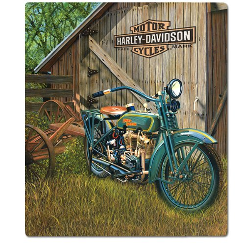 #2010531 Ande Rooney Harley Davidson 1923 F-Head Twin HD tin Sign