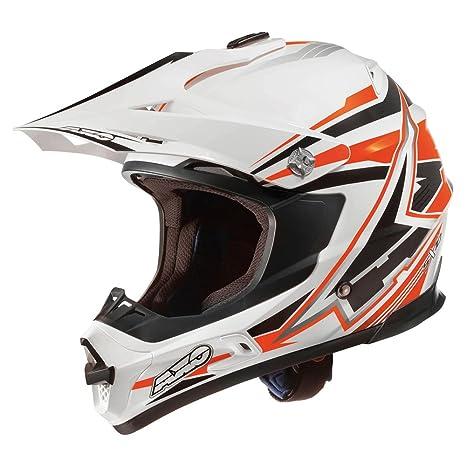 AXO mX1P0010 oKW casque de ski jump sX10, taille s (blanc/noir/orange