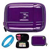 614BsnZPIqL. SL160  Candy Purple Durable Protective GPS Carrying Case
