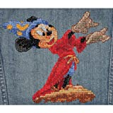 M C G Textiles 6 x 7.25-inch Disney Dreams Collection Fantasia Counted Cross Stitch Kit