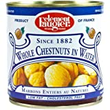 Clement Faugier Whole Chestnuts in Water - Low Fat, Cholesterol Free