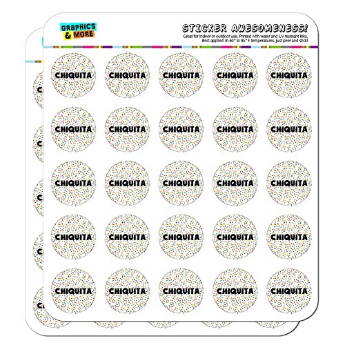 chiquita-name-scrapbooking-crafting-stickers-multicolored-speckles-50-1-stickers