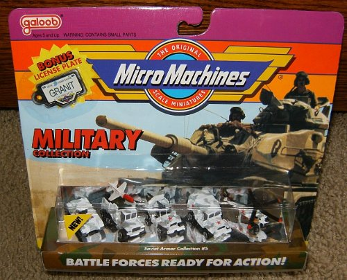 Micro Machines Soviet Armor #5 Military Collection