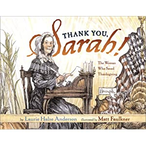 Thank-you, SarahA story about the woman who helped to save Thanksgiving