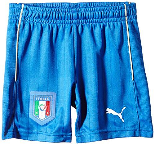 Puma FIGC Kid Away Shorts Replica Pantaloncini da ragazzo, Blu, 116 - XS