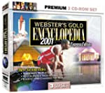 Webster's Gold Encyclopedia 2001 3 CD...