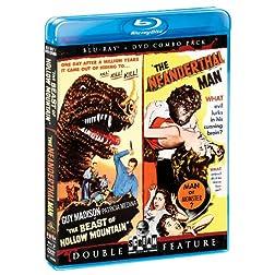 Beast Of Hollow Mountain / The Neanderthal Man (Bluray/DVD Combo) [Blu-ray]