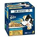 Purina Felix Sensations Cat Food Fish Mix 24x 3.53oz