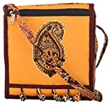 Ganesh Kalamkari Patch work Sling Bag (Bommarilu)