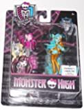 Monster High, Mini Figures, Draculaura & Lagoona Blue, 2-Pack, 3.5 Inches