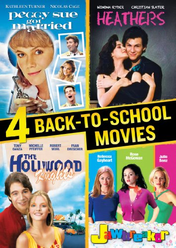 4 Back to School Movies Collection (Jawbreaker / Hollywood Knights / Peggy Sue Got Married / Heathers) (Francis Ford Coppola Collection compare prices)