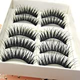 Hot Sale F57 5 Pairs Smoking Thick Long False Eyelashes beauty Lashes Fake Eye Lashes Makeup