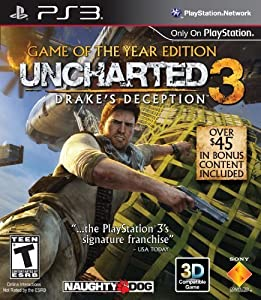 Uncharted 3: Drake's Deception - Game of the Year Edition - Playstation 3 by Sony Computer Entertainment