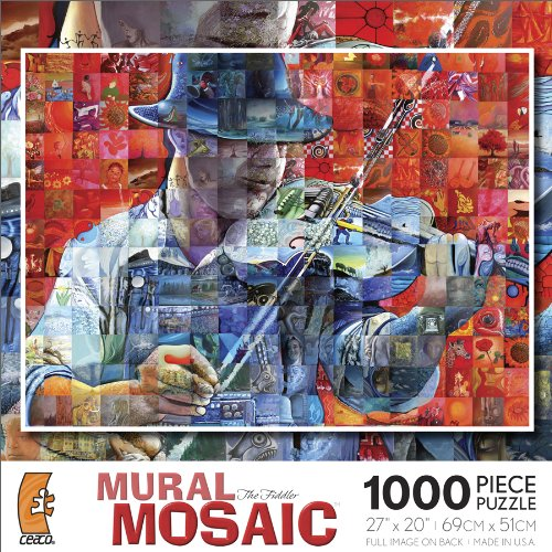 Ceaco Mural Mosaic - The Fiddler