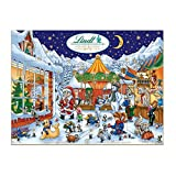 Lindt Chocolate Holiday Advent Calendar,