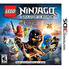 LEGO Ninjago: Shadow of Ronin Now Available for Nintendo 3DS and Playstation Vita System