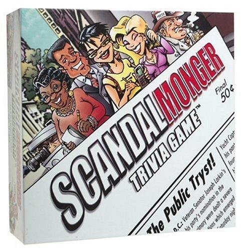 Scandal Monger Trivia Game