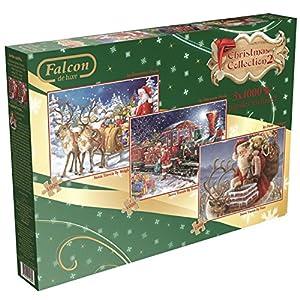 Falcon de luxe Christmas Collection Set Vol.2-3 Jigsaw Puzzles (1000 Pieces)