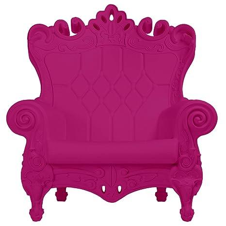 Design of Love - Slide Design - Queen of Love Fauteuil Fuchsia sweet
