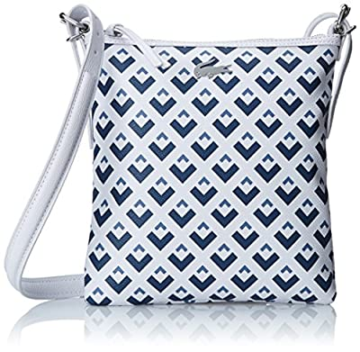 Lacoste Women's Nelly Flat Crossover Cross Body Bag