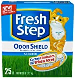 Fresh Step Odor Shield Scented, 25-Pound Box