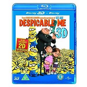amazon UK: Ich - einfach unverbesserlich (2D + 3D Version, 3D Blu-ray) nur ~12,80€ inkl. Versand