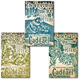 Ellis Peters Ellis Peters The Cadfael Chronicles Series Collection 3 Books Set, (The Leper Of Saint Giles, The Virgin In The Ice and The Sanctuary Sparrow