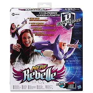 nerf rebelle b0472eu40 jeu de tir lance fl chette jeux et jouets. Black Bedroom Furniture Sets. Home Design Ideas