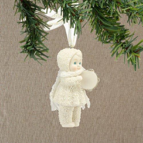 Snowbabies Dream Merry Music Tambourine Ornament, 2.75-Inch