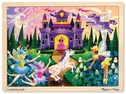 'Fairy Fantasy' 48-Piece Wooden Jigsaw Puzzle - 1