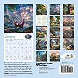 Thomas Kinkade: The Disney Dreams Collection 2017 Wall Calendar