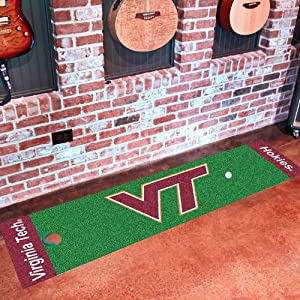 FANMATS 9090 Virginia Tech Hokies Nylon Putting Green Mat by Fanmats