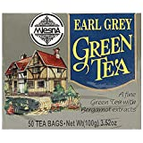 Mlesna Flavoured Green Tea, Earl Grey, 100g