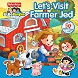 Fisher-Price Little People Let's Visit Farmer Jed Panorama Stickerbook (0794417728) by Monica, Carol