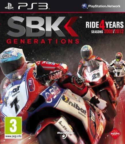 SBK Generations (PS3 Playstation 3 Region Free Motorcycle Bike) NEW
