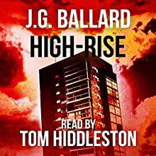 High-Rise Audiobook by J.G. Ballard Narrated by Tom Hiddleston
