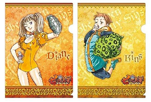 七つの大罪(原作) A4クリアファイル ディアンヌ&キング