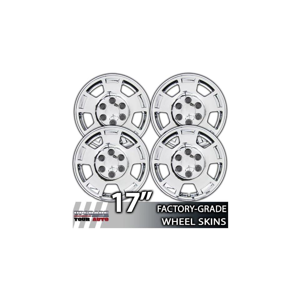 2007 2013 Chevy Silverado/Tahoe/Suburban/Avalanche 17 Chrome Wheel Skins
