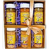 USDA Organic Certified Garlic Gold; Best Selling Nugget Gift Box (Original, Sea Salt, Parmesan, Italian Herb, Herb de Provence, Southwest)